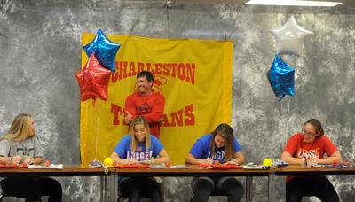 Charleston softball signing