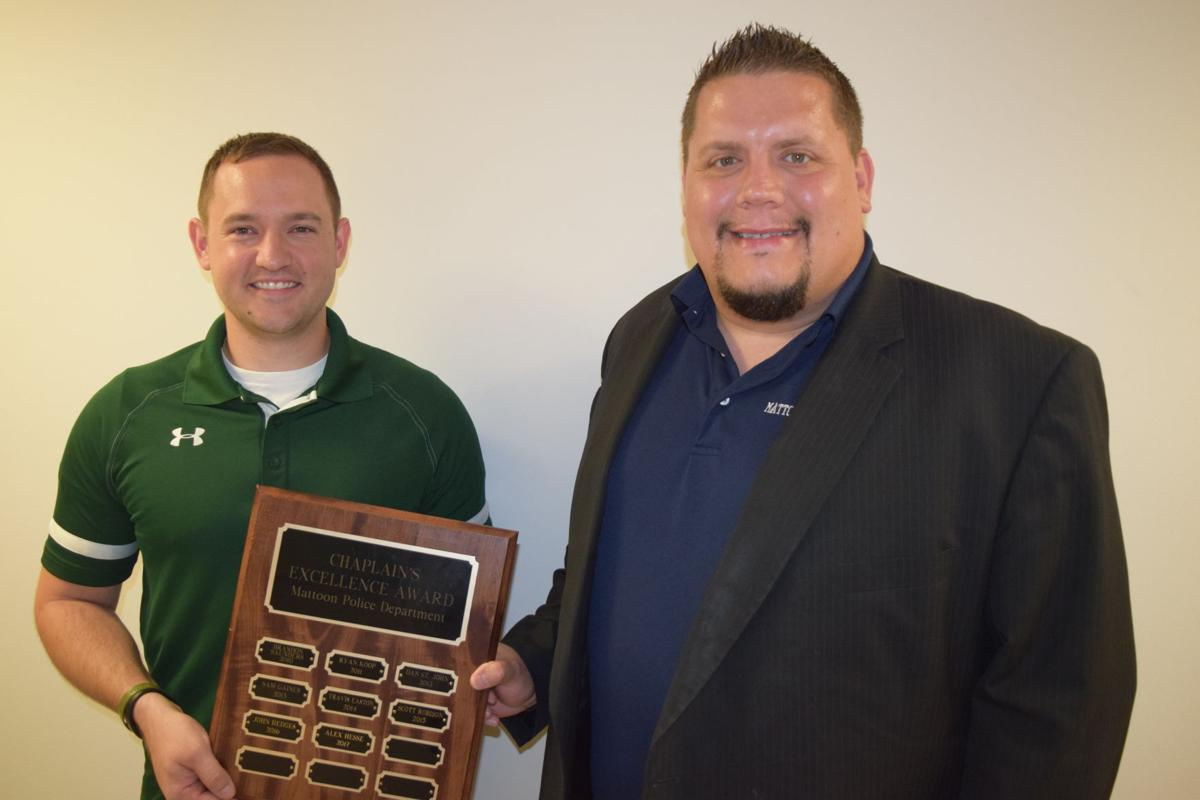 Hesse wins chaplain's award
