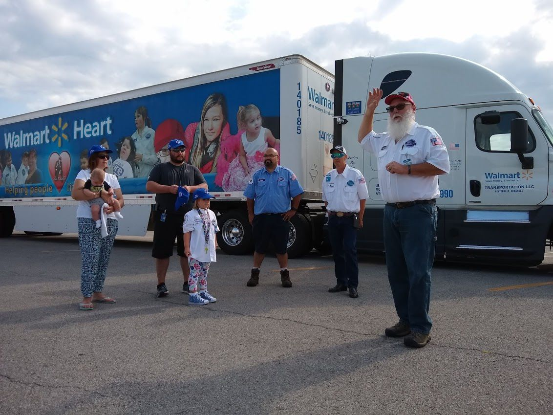 Walmart Heart convoy celebrates Charleston girl who underwent heart