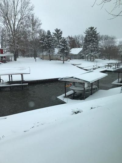Lake Mattoon snowfall