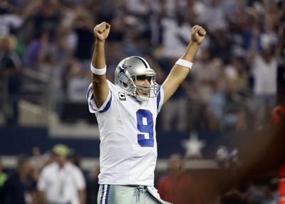 Cowboys Romo Football