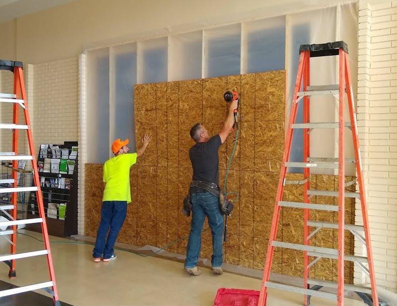 Construction progressing at Marshalls site at Mattoon mall