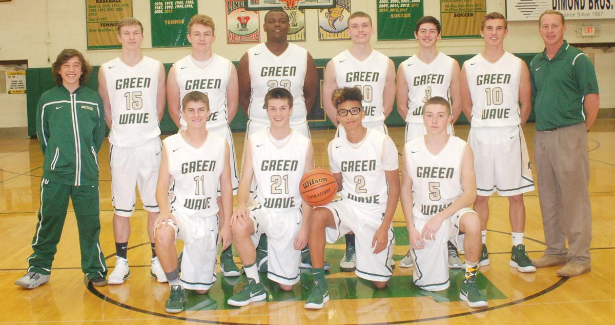 Mattoon boys basketball