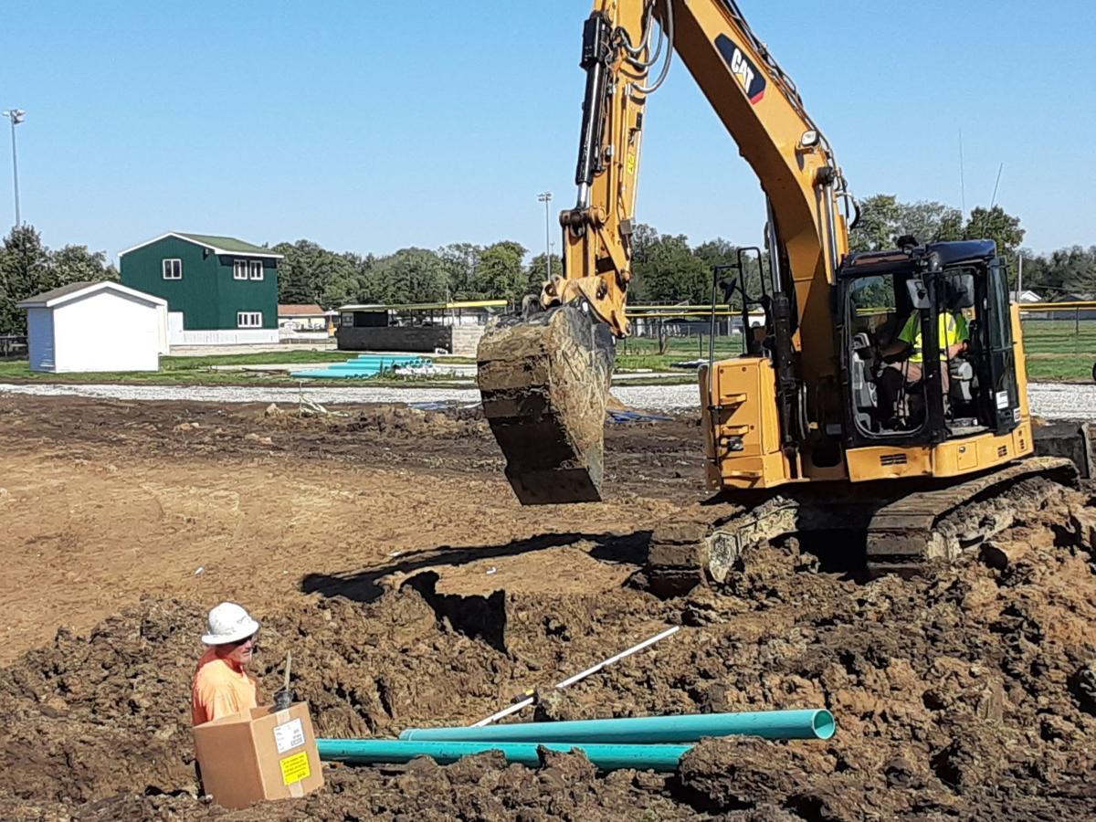 MHS excavator