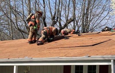 Charleston residence attic fire