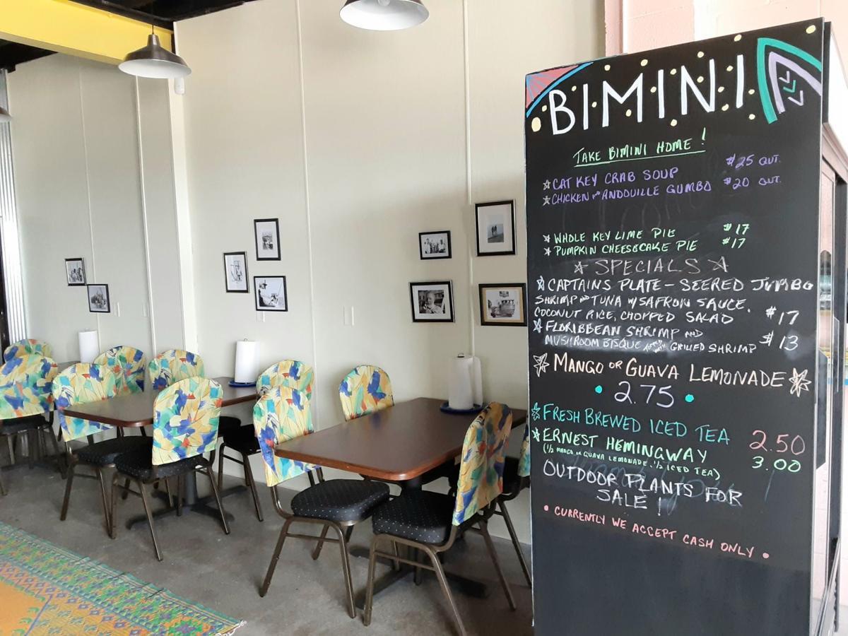 Bimini dining room