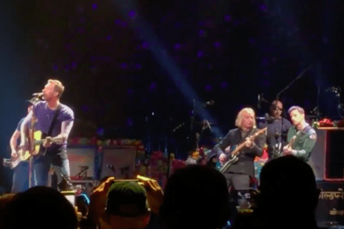 Coldplay Honors Tom Petty With A Beautiful Cover Of 'Free Fallin'