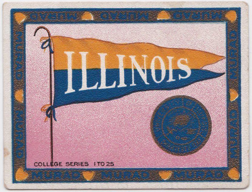 1910 T51 Murad Cigarettes - University of Illinois