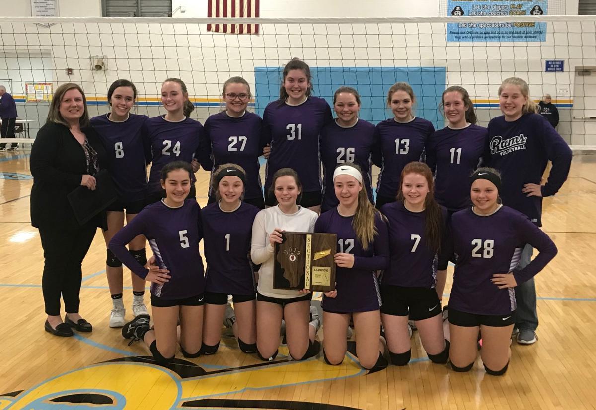 Shelbyville eighth-grade volleyball