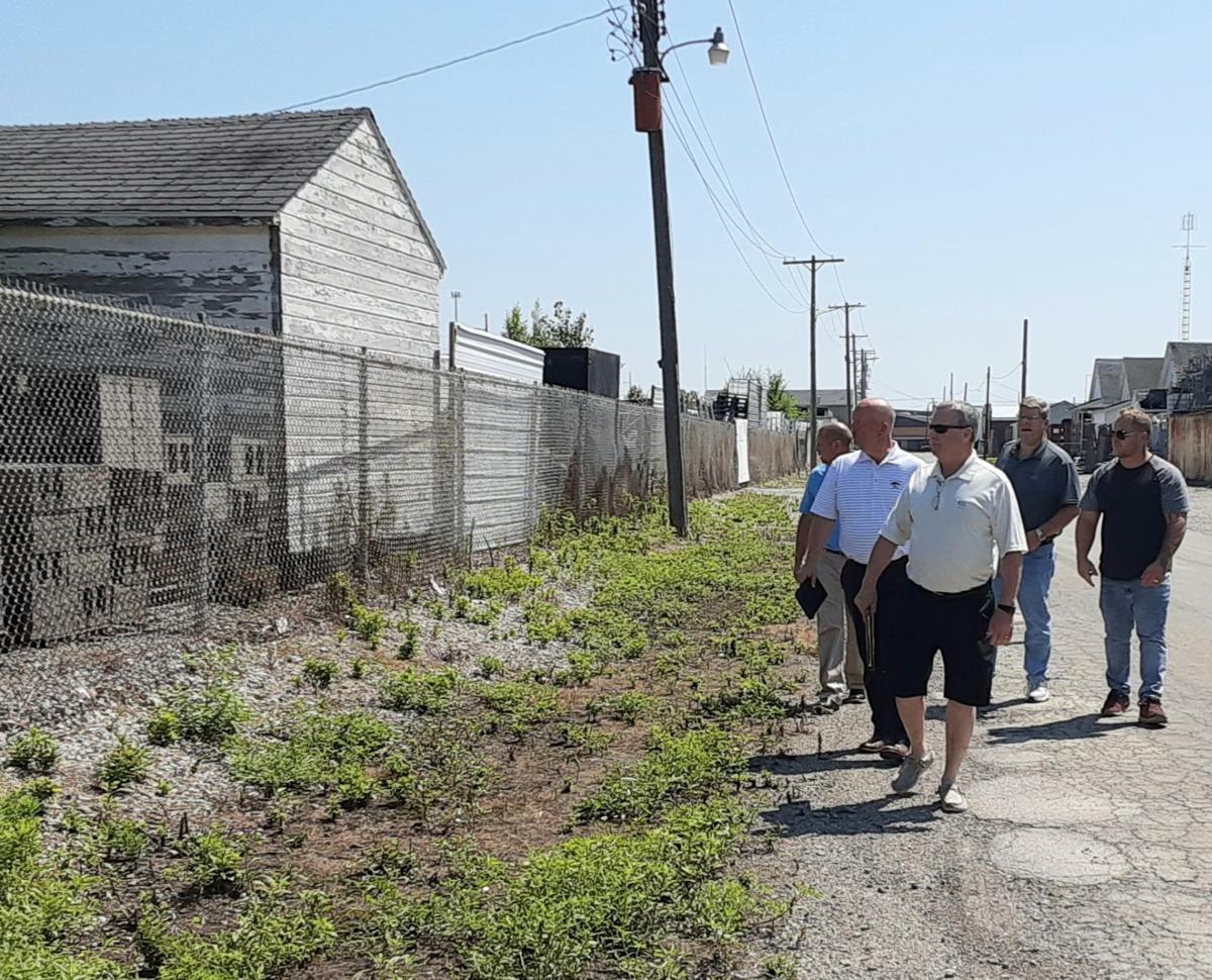 Site inspection tour