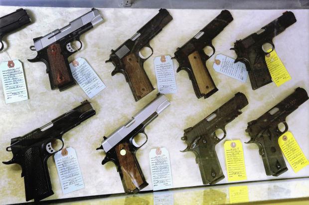 Handguns - File Photo