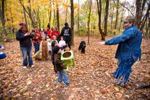 Nature center turns into weekend zombie wasteland