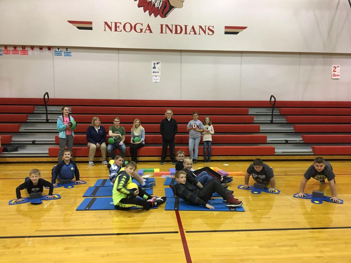 Neoga, fitness equipment