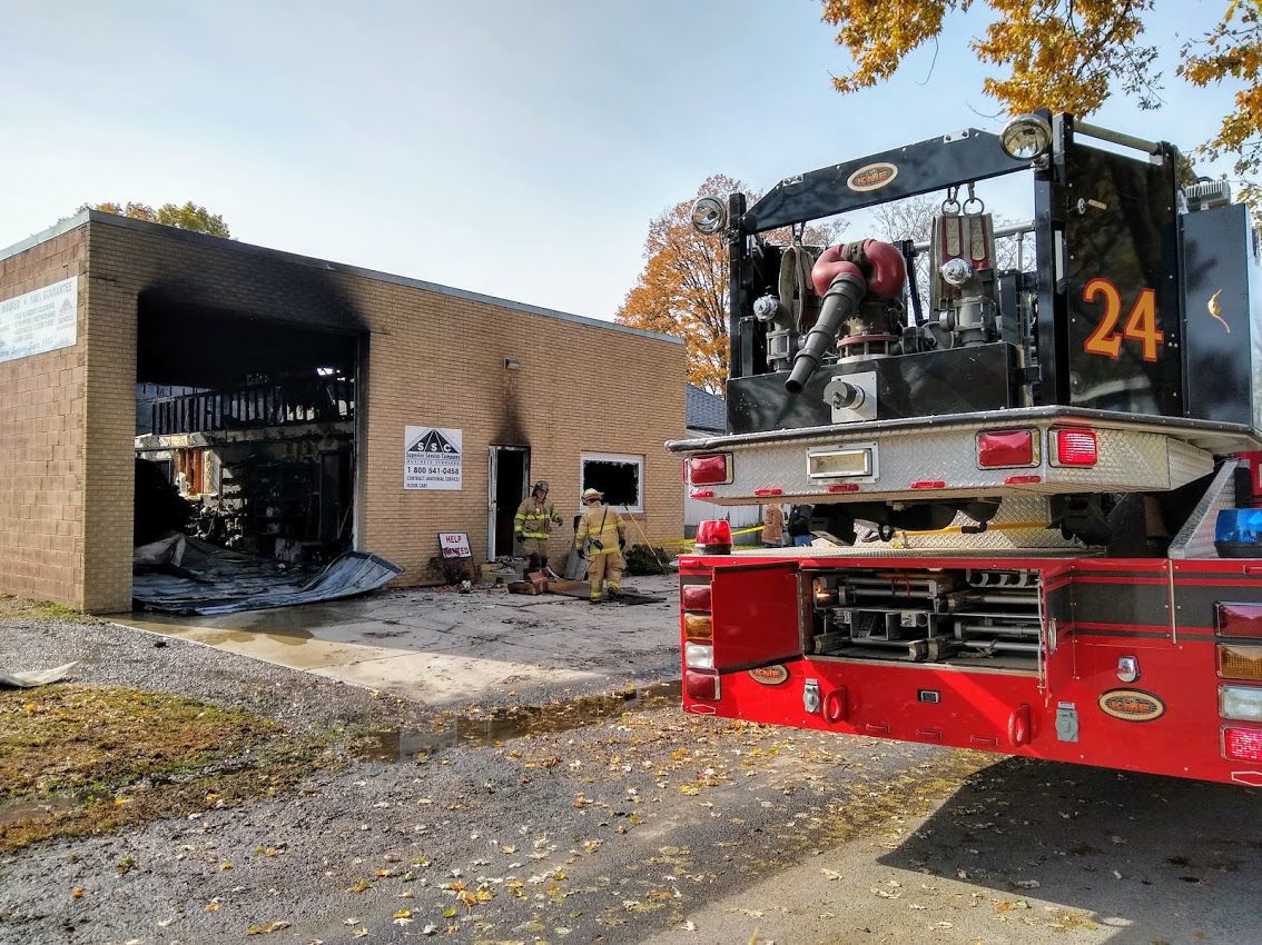 Fire destroys janitorial services building in Mattoon