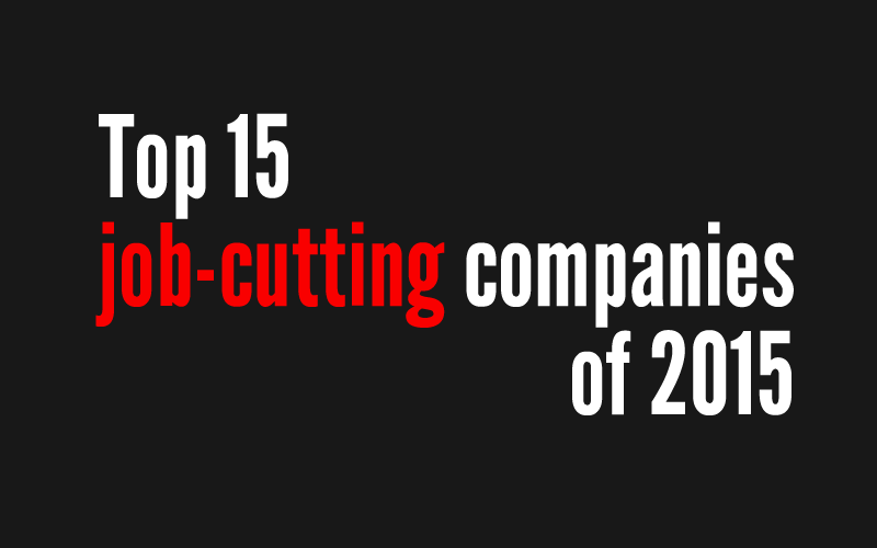 Out of work: This year's 15 largest job cuts