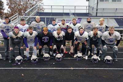 Arcola senior football players