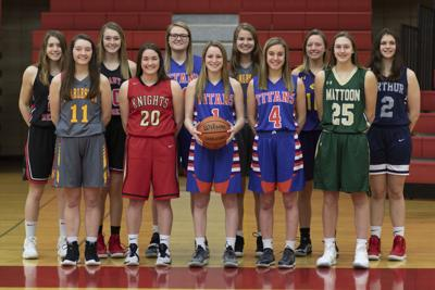 All-Area Girls 2019 Basketball Team