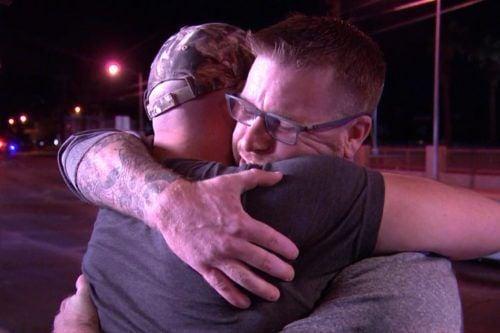 Injured Las Vegas Shooting Survivor Meets Stranger Who Helped Him