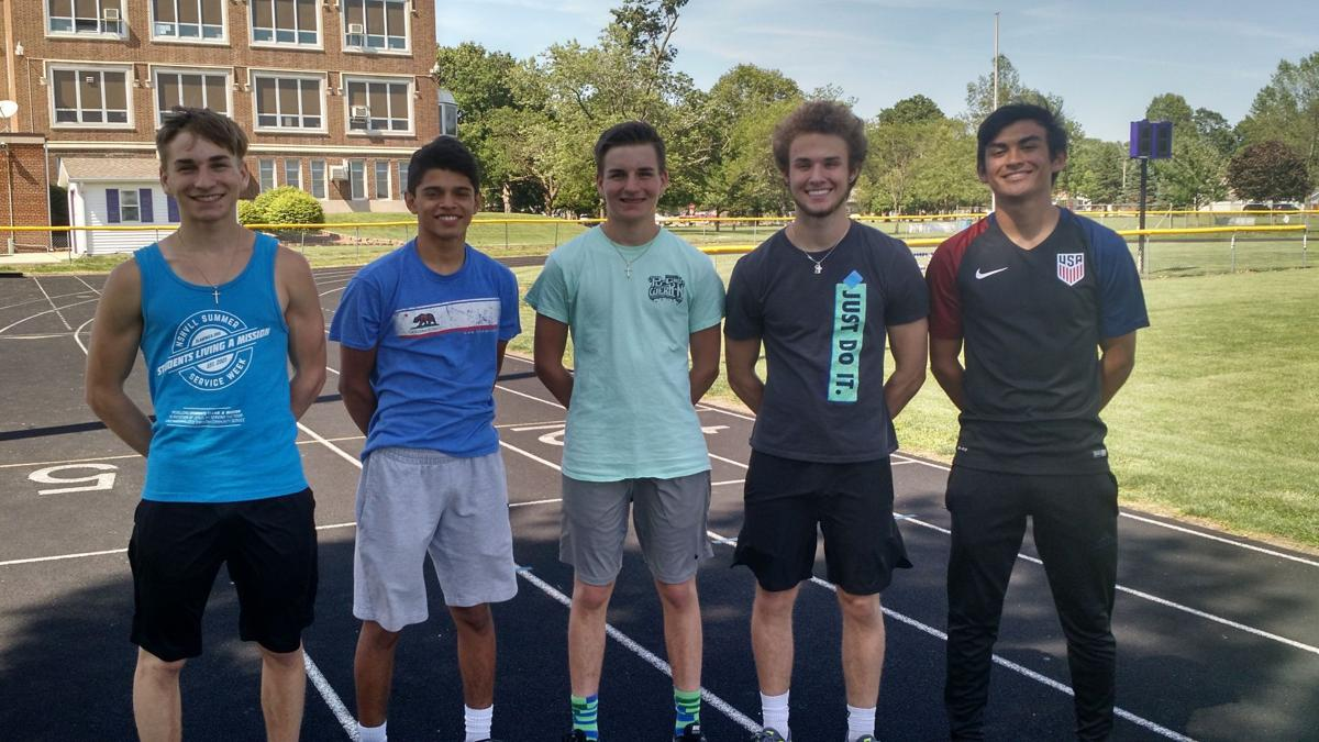 Arcola boys' state track qualifiers -- B1 TOP PHOTO