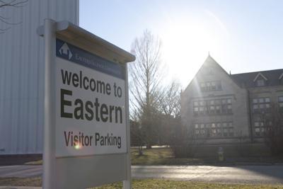 Eastern Illinois University sign (03/14/19)