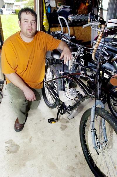 Riders like motorized bicycles for fun, economy, but noise