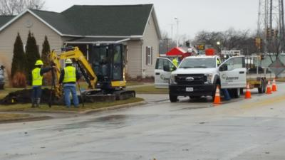 Section of Marshall in Mattoon evacuated due to gas leak