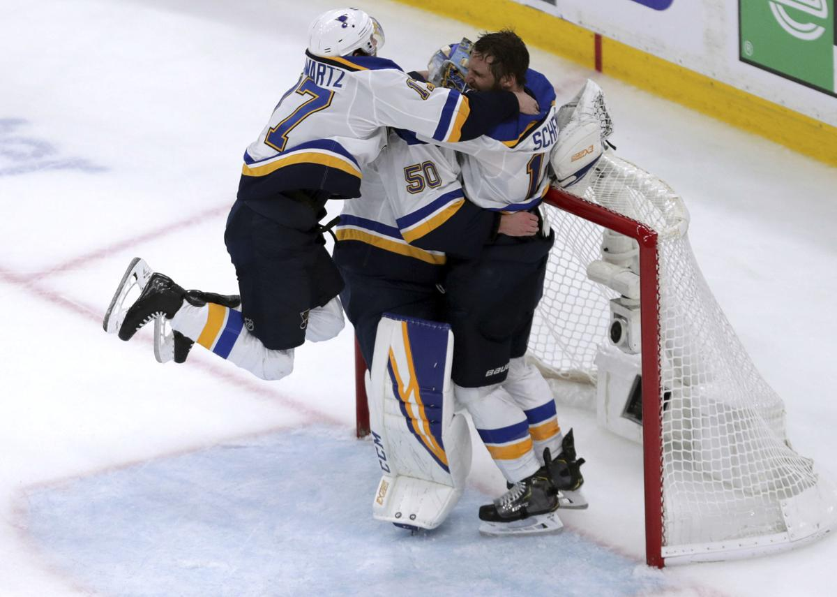 St Louis Blues Beat Boston Bruins 4 1 In Game 7 For First Stanley Cup Championship Hockey Jg Tc Com