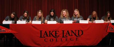 Lake Land Softball 2019 signing class