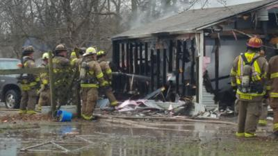 Fire destroys workshop building