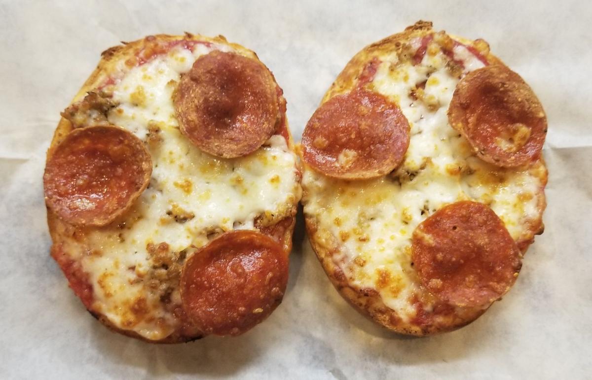 Angelo's Pizza Bagel