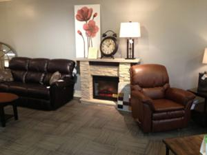 You can find beautiful leather Living Room Furniture & Stylish Home Decor at Wright's Furniture & Flooring's!