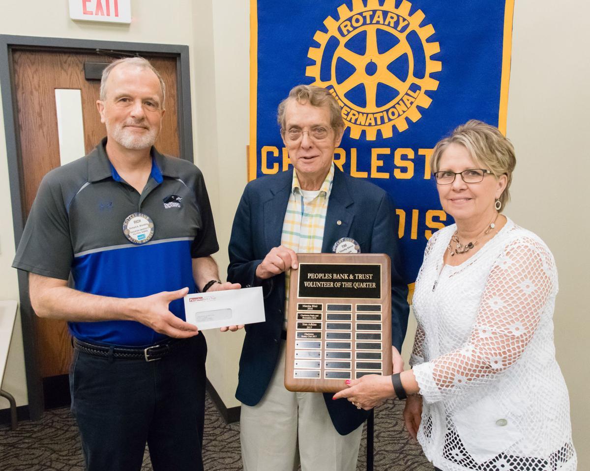 Peoples Bank honors Charleston Rotary