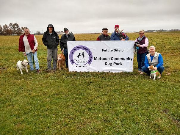 Mattoon Community Dog Park site