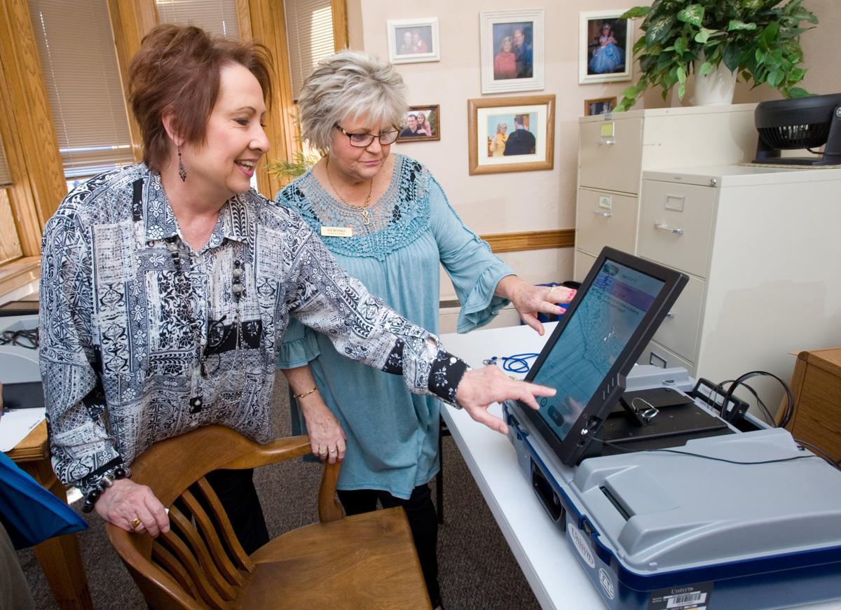 Coles Voting Equipment 03/13/18