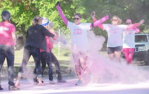 Color run/walk goes pink to aid breast cancer awareness
