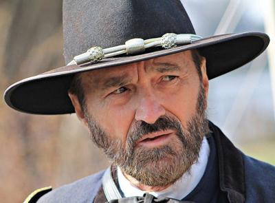 Lincoln Log Cabin U.S. Grant portrayer