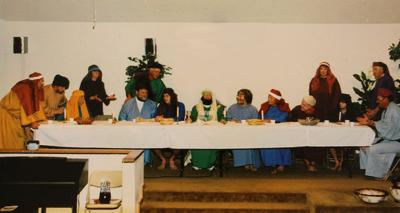 Last Supper Image 1 - Woodall