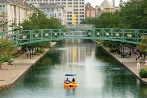 Day Tripper:  Indianapolis offers 'urban state park' for some family fun