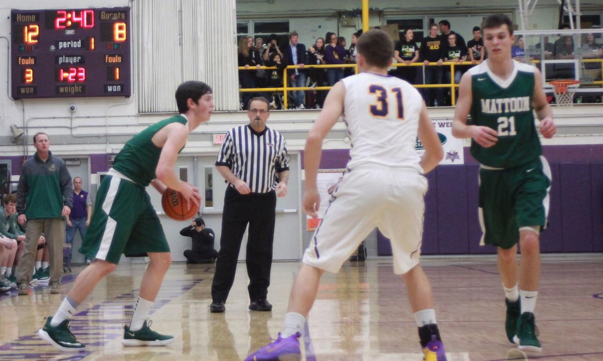 Mattoon boys basketball 01/11/19