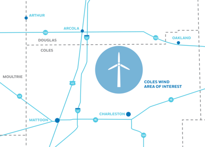 Apex Clean Energy is exploring the feasibility of constructing Coles Wind