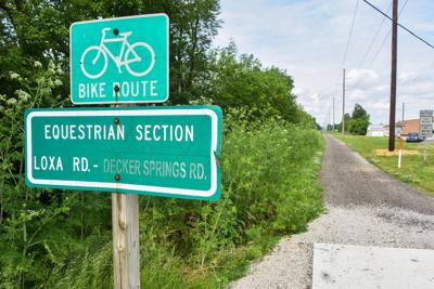 Bike trail surfacing project