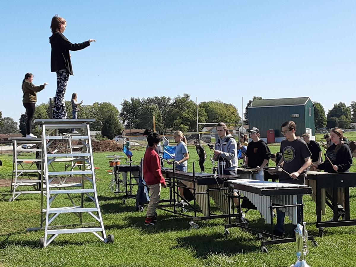 MHS band practice