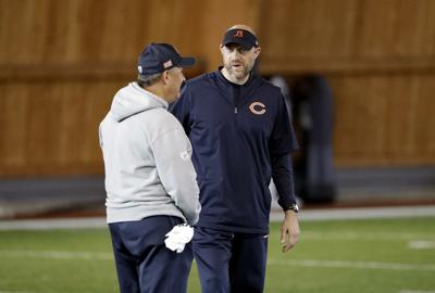 new styles 8d95b 7e6eb Ten questions for the Bears looking ahead to Matt Nagy's ...