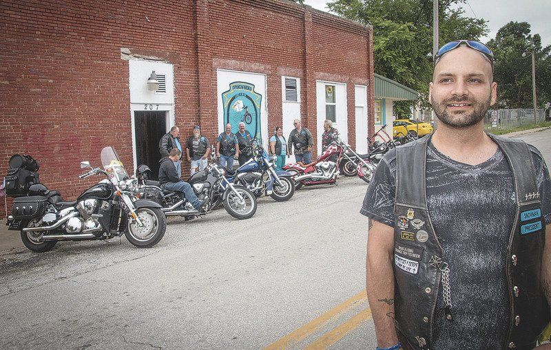 Ministry Helps Biker Stay On Right Side Of The Road