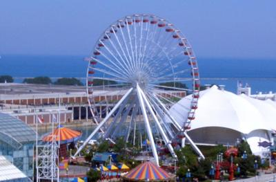 Ferris wheel from Chicago s Navy Pier going to Branson  cd41a2eb3