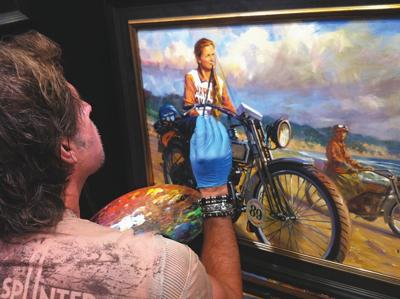 f072607f0250c Harley artist to show work at Joplin motorcycle shop