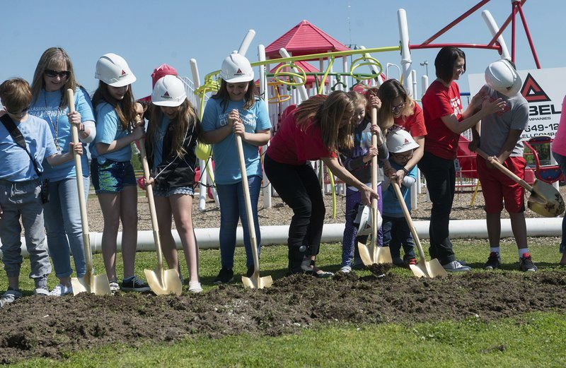 Carl Junction breaks ground on all-inclusive playground