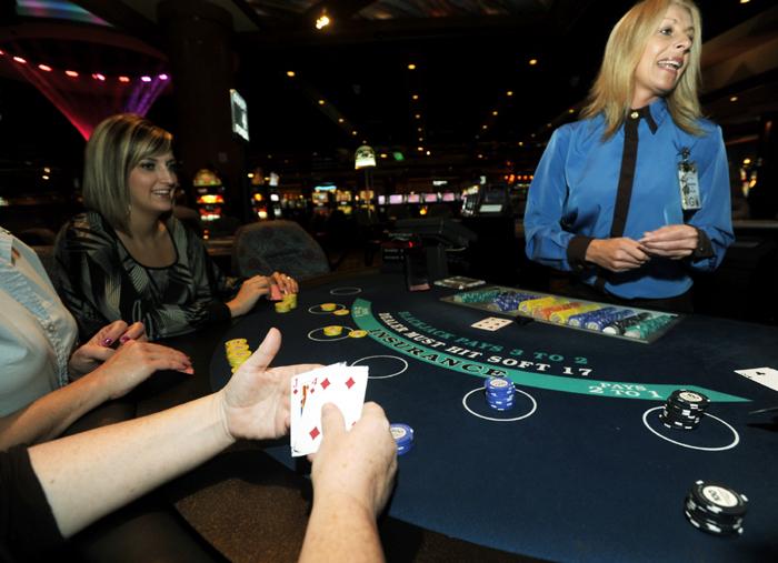 Downstream casino jobs video poker lines