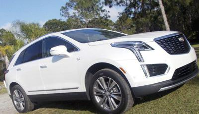 Len Ingrassia: Cadillac XT5 adds sporty styling