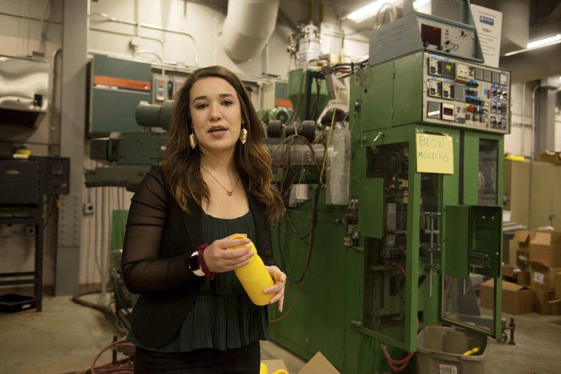 PSU student leads charge to make materials safer for environment